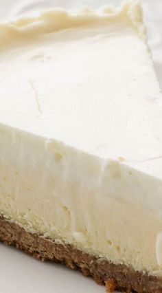 Nana's Famous Cheesecake ~Classic Cheesecake with Sour Cream Topping