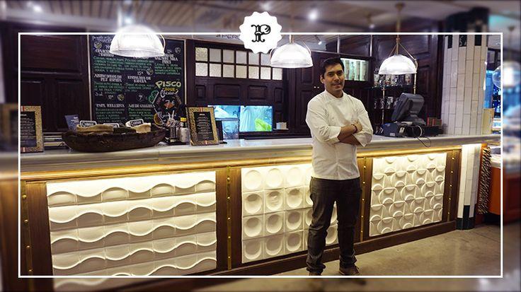 Kiko Zeballos, Chef de Kinua Perú Food en Platea Madrid.