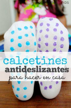 Transforma calcetines comunes en antideslizantes | Blog de BabyCenter