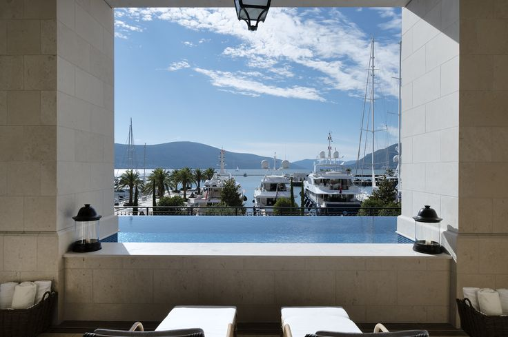 The Spa at the @regentportomne in Tivat where all @5staralliance guests receive complimentary lunch for two in the Dining Room once during their stay, a welcome amenity of local delicacies and wine, and VIP status.