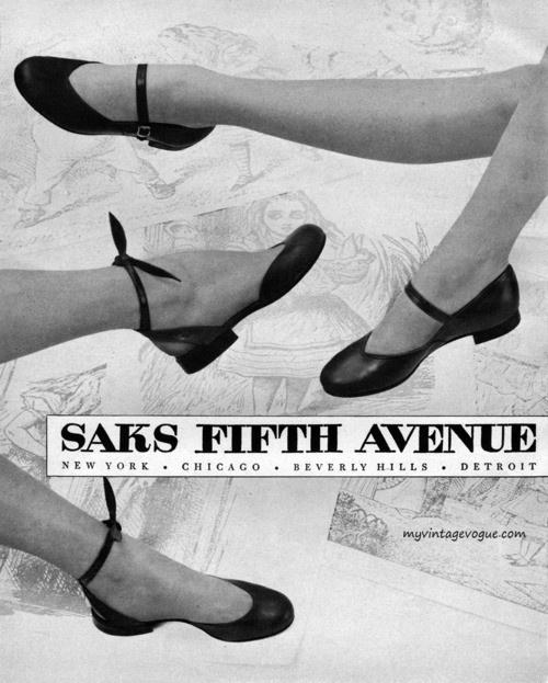 Saks Fifth Avenue 1951 Ad
