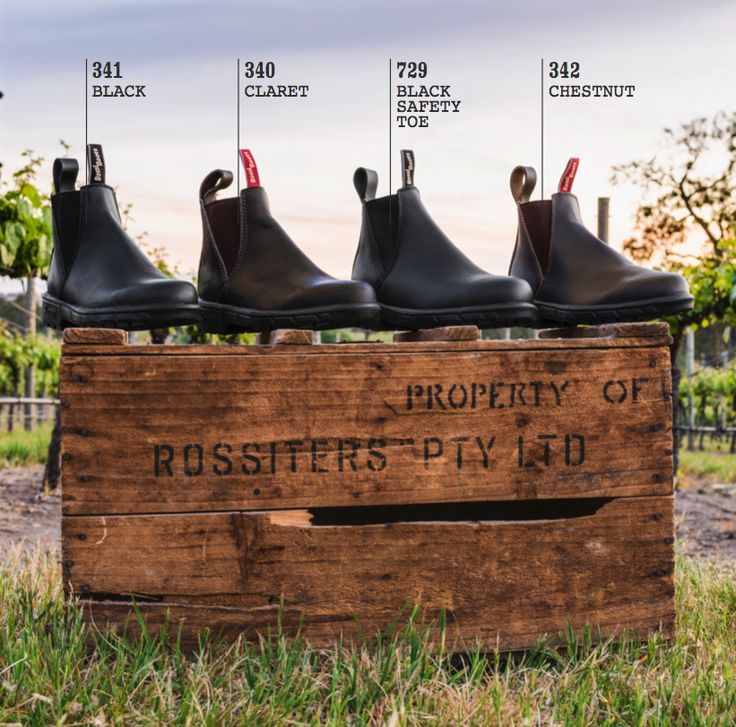 Rossi Boots 'Musk' work boots for women. Designed and made in Australia.