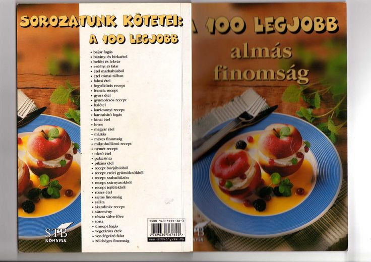 A 100 legjobb almas finomsag(1 kotet)(toro elza) 2004