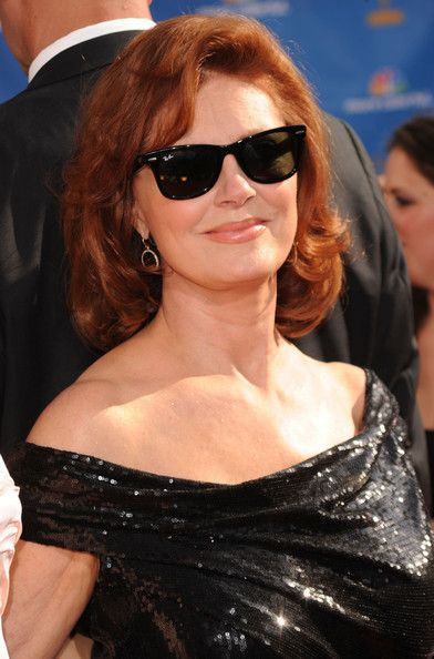 """Celebrated actress, activist, humanitarian and ping pong enthusiast Susan Sarandon told us, """"I feel beautiful on the red carpet when I see how happy my fans are to see me. I feel beautiful when I'm comfortable in what I'm wearing. When I feel strong and simple, edgy and elegant."""" She also swears by Laura Mercier primer."""