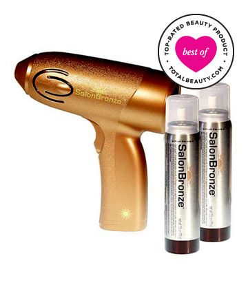 Best Self Tanner No. 4: Sally Beauty Salon Bronze Airbrush Tanning System, $12.99