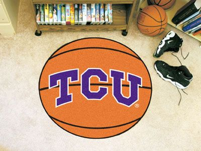 Texas Christian University Basketball Mat