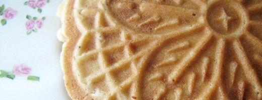 Pizzelle (Italian Waffle Iron Cookies) gluten free waffles