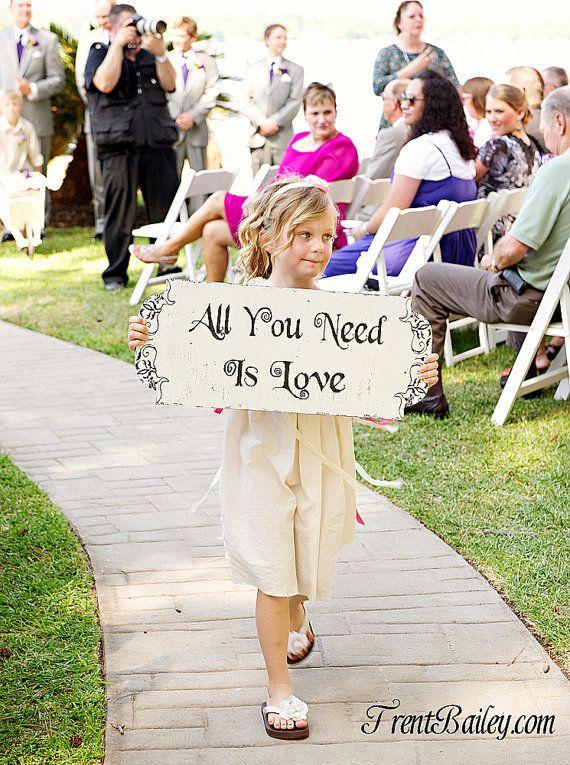 wedding, sign