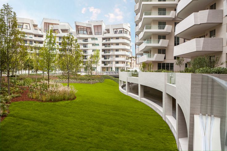 citylife project by studio daniel libeskind at politecnico di milano -  green roofs were realized with our system Perliroof