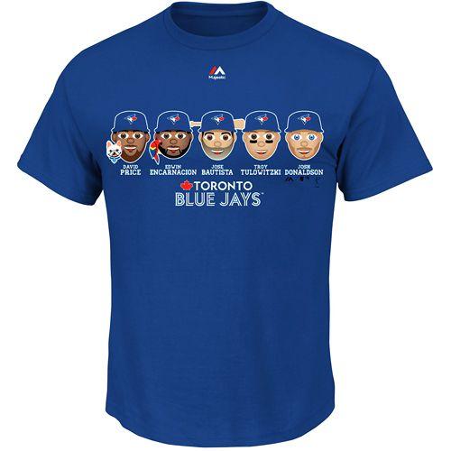 Toronto Blue Jays Team Emoji T-Shirt - MLB.com Shop