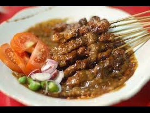Masakan Indonesia - Cara membuat Sate Ayam - YouTube