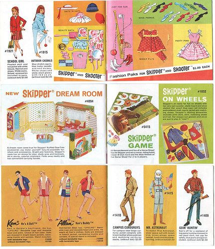 1964 Barbie booklet 2 by Mattel (4) | Flickr - Photo Sharing!