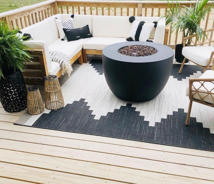 30 X 50 Mod Desert Outdoor Rug Neutral Project 62 Outdoor Rugs Patio Outdoor Rugs Outdoor Furniture Sets