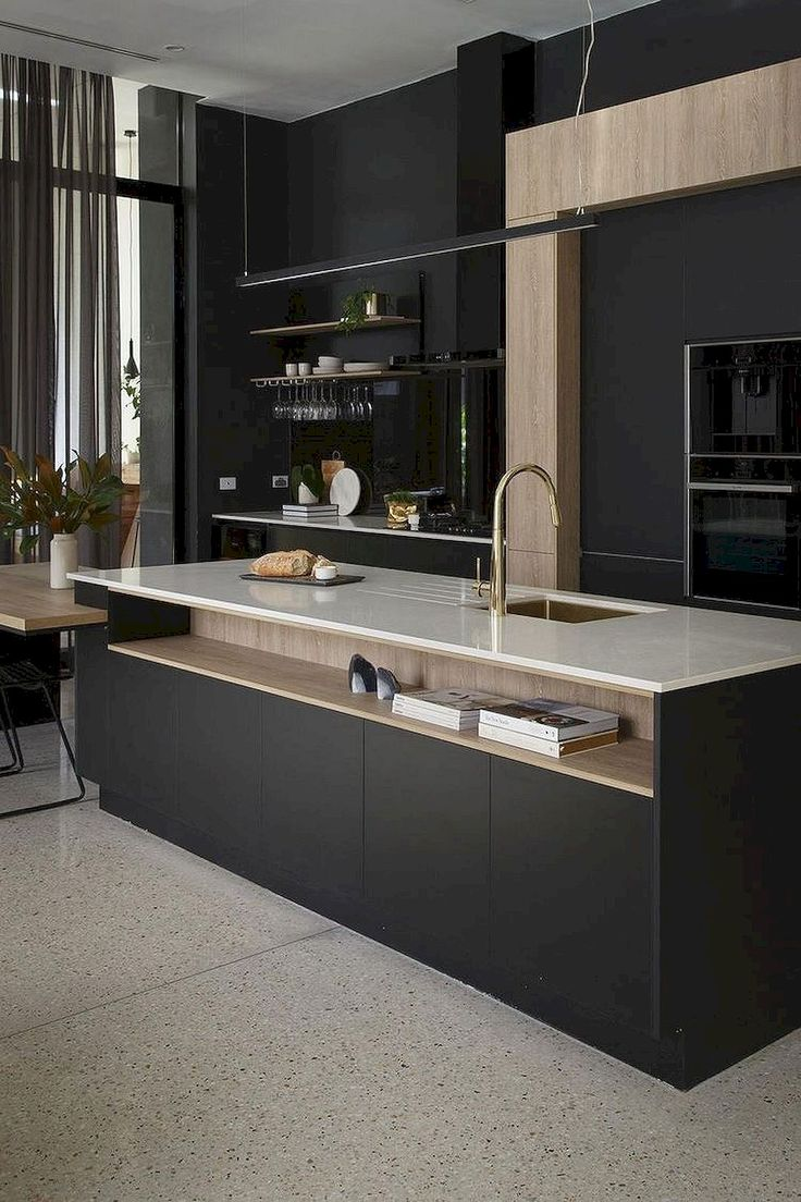 The 25 best modern kitchen design ideas on pinterest for Kitchen decor inspiration