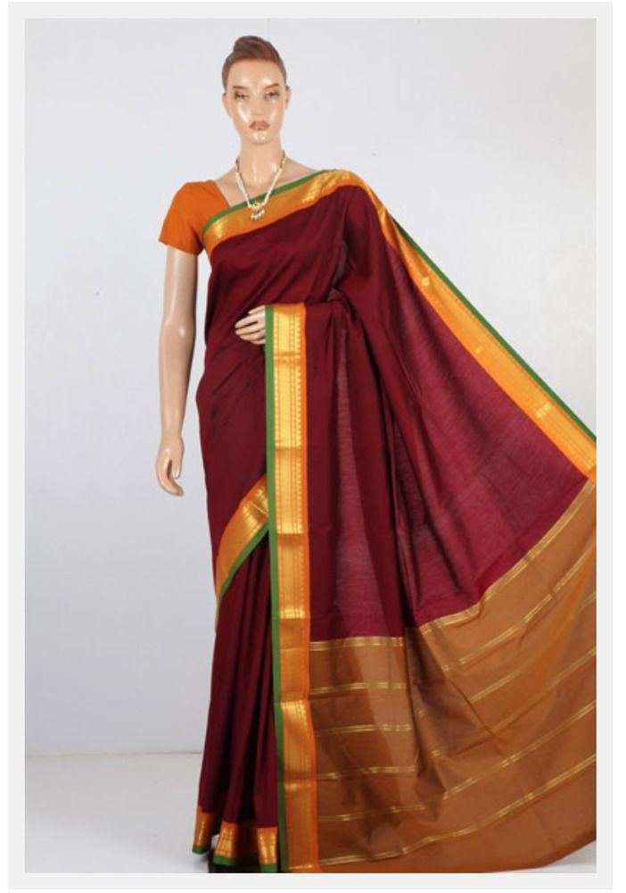 South Indian Apoorva cotton Saree #Unbranded
