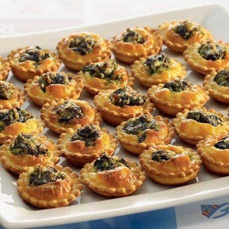 Mini-tartelettes aux escargots de Bourgogne