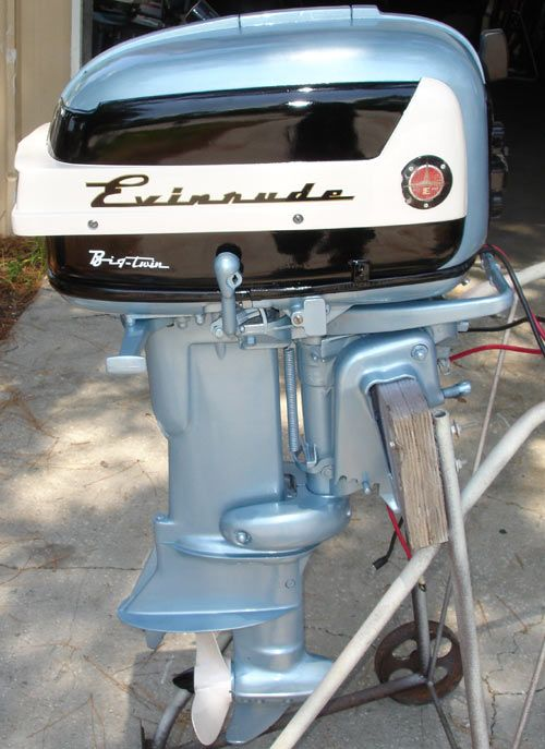 Duck Hunting Boats For Sale >> Beautiful Evinrude totally restored ! One of my all time ...