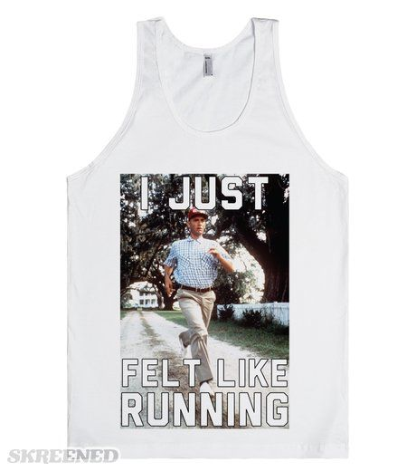 I Just Felt Like Running | Get your running motivation in the right place  with this