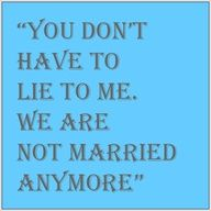 ex spouse sayings -