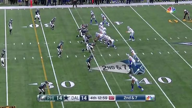 Jordan Hicks intercepts Matt Cassel and returns it 64-Yards for a TD! Its a shame Hicks isnt here to kill the Cowboys once again. @jhicks_3  #PhillyEaglesPlayback  #EaglesNation #Eagles #Philly #Philadelphia #PhiladelphiaEagles #FlyEaglesFly #BleedGreen