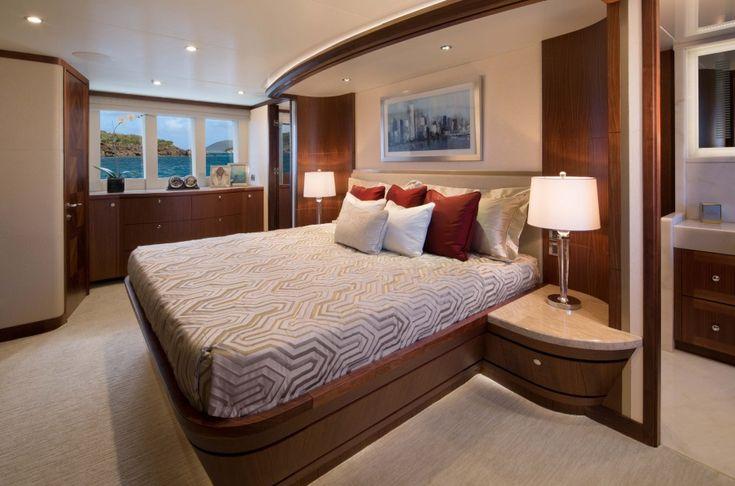 Chelsea Clock & Barometer set aboard an Ocean Alexander yacht!