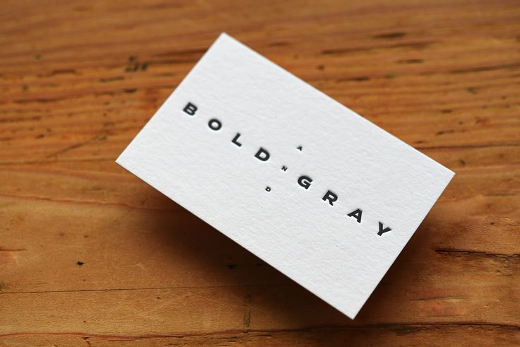Letterpress-Visitenkarten für www.boldandgray.de, gedruckt auf unserem Klassiker 100% Cotton-Papier. Gestaltung: www.deteringdesign.de // #letterpress #letterpressonline #letterpressbusinesscards #letterpresslove #printstudio #printdesign #corporatedesign #grafikdesign