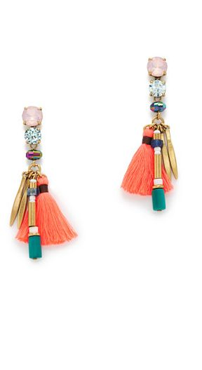 tassel earrings …