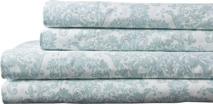 Delano 300 Thread Count 100% Cotton Sheet Set
