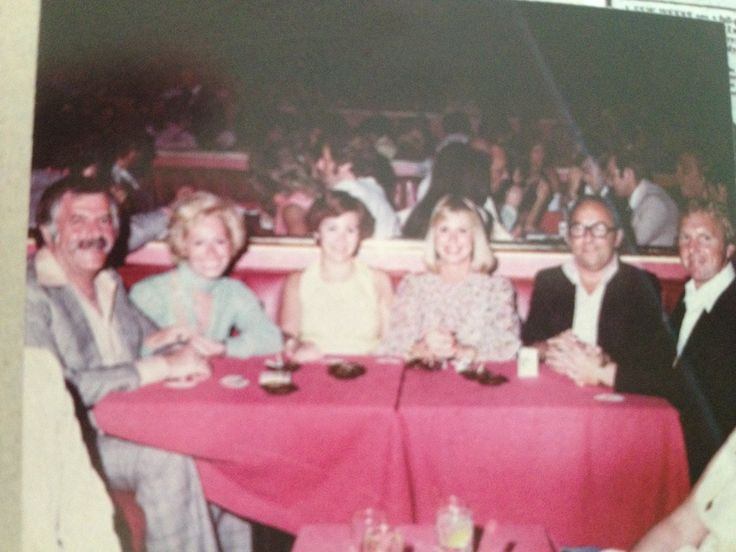 At Caesars Palace with Bobby and Tina Moore and Philip and Ruth Isaacs.