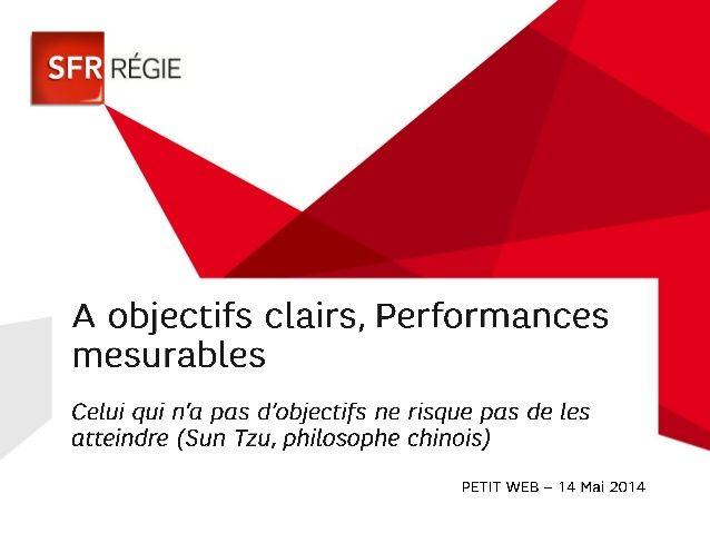 """Présentation SFR Régie au Petit Club """"Simplifier le Mobile"""""""