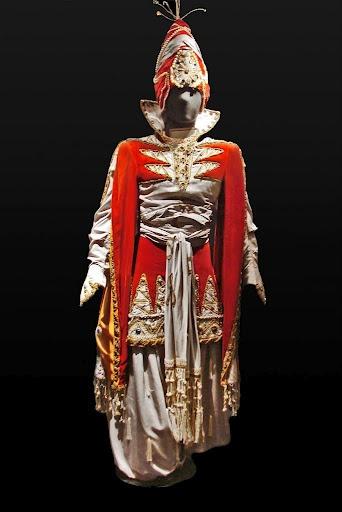 Ballet Russe  Leon Bakst, Costume du Prince des Indes