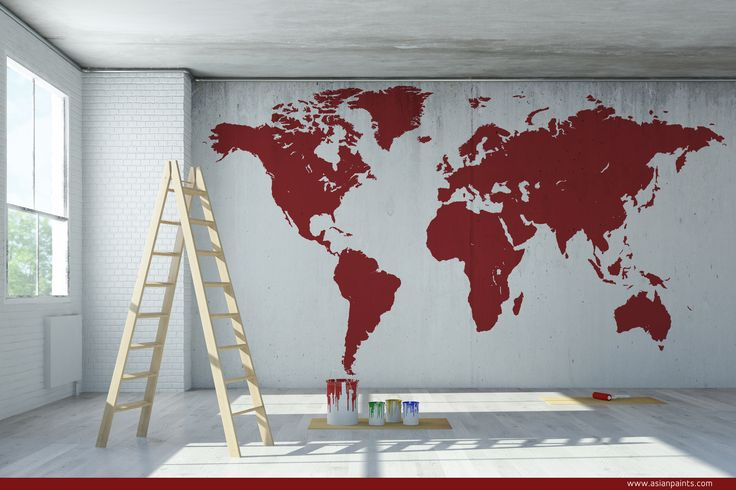 Paint the world in Madder Red! Around the world I travel… A wanderlust! This…