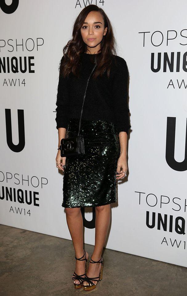Ashley Madweke au défilé Topshop Unique i love her style!