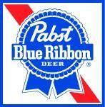 Pabst Blue Ribbon Decal Square Logo