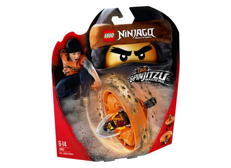LEGO NINJAGO 70637 Cole Spinjitzu Master