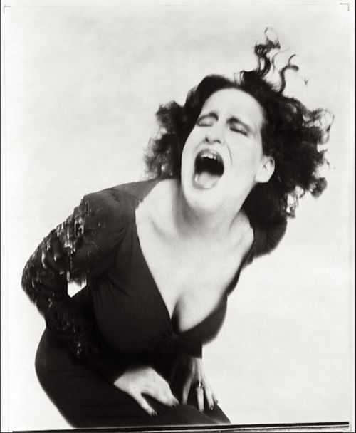 """""""Group conformity scares the pants off me because it's so often a prelude to cruelty towards anyone who doesn't want to - or can't - join the Big Parade... Cherish forever what makes you unique, 'cuz you're really a yawn if it goes."""" ~ Bette Midler, photographed by Richard Avedon, 1971"""