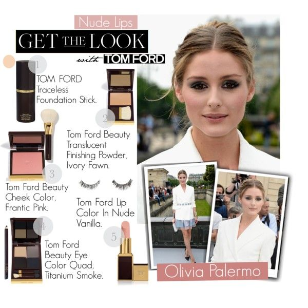 """""""Get the Beauty Look: Olivia Palermo Nude Lips"""" by anandaaa21 on Polyvore"""