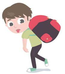 ¡Cuidado con las mochilas!  Comienza un nuevo curso escolar y como es costumbre toca preparar la mochila para el cole con todo lo necesario: libros, cuadernos, estuches, diccionarios, material de dibujo etc, etc. Como bien saben padres e hijos, la mochila puede alcanzar un peso excesivo para un niño/a y esto acarrear problemas o lesiones en cuello, hombros, espalda, caderas y rodillas. ¿Cómo hacer para evitarlo?  #salud #educación