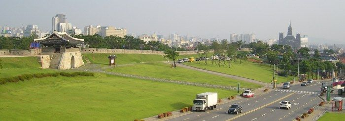 Photo Friday: Hwaseong Fortress - Trekking with Becky