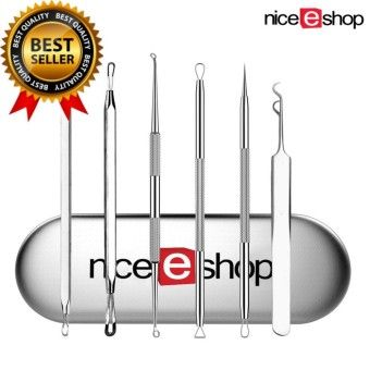Review niceEshop 6 Pcs Professional Blackhead Remover Tool Set Acne Pimple Comedone Blemishes Extractor Kit For Facial Skin CareOrder in good conditions niceEshop 6 Pcs Professional Blackhead Remover Tool Set Acne Pimple Comedone Blemishes Extractor Kit For Facial Skin Care Before NI873HBAA7ORNUANMY-16332144 Health & Beauty Beauty Tools Skin Care Tools niceEshop niceEshop 6 Pcs Professional Blackhead Remover Tool Set Acne Pimple Comedone Blemishes Extractor Kit For Facial Skin Care