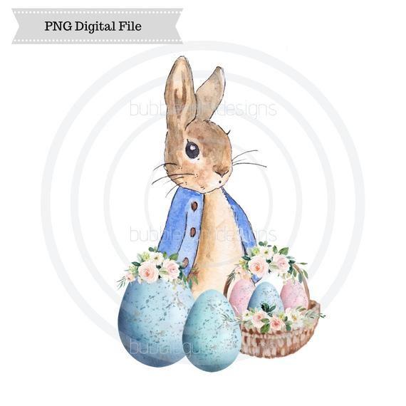 Peter Rabbit Peter Rabbit Print Tale Of Peter Rabbit Flopsy Rabbit Watercolor Painti Rabbit Illustration Peter Rabbit Illustration Peter Rabbit And Friends