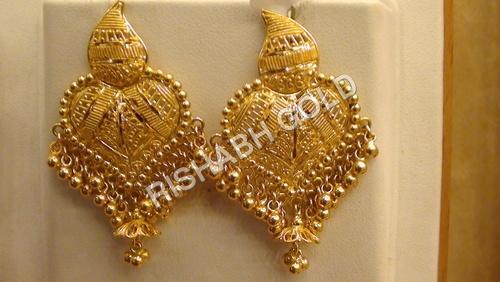 Beautiful Gold Earrings