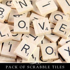 Brand New Scrabble tiles 100 pack