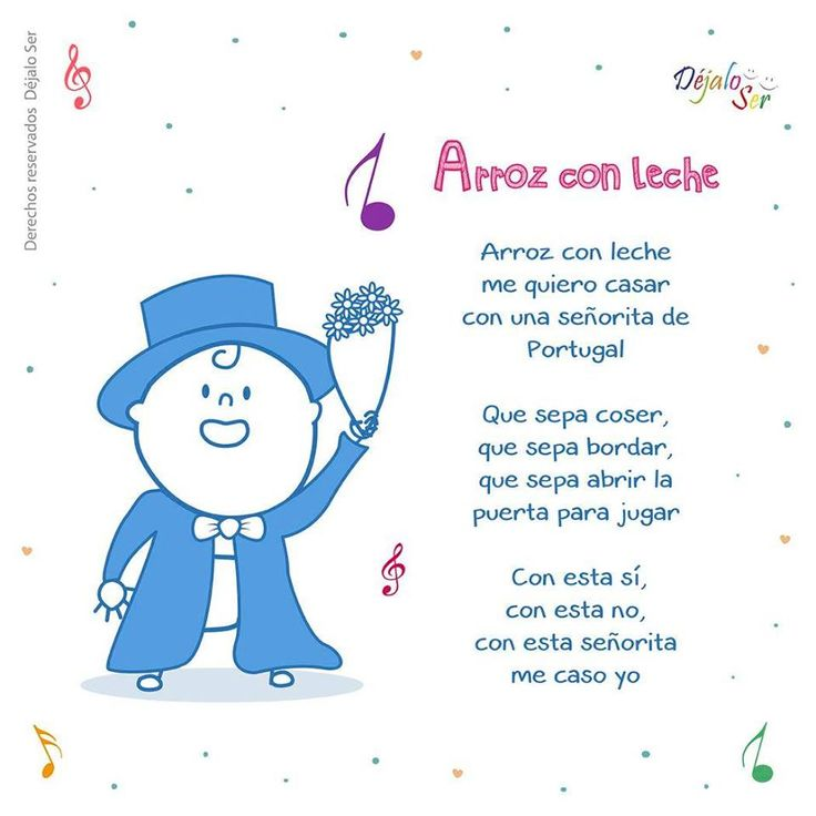 *Letras de Canciones infantiles. - EduInf35