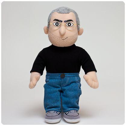 Steve Jobs doll for all Apple fans.