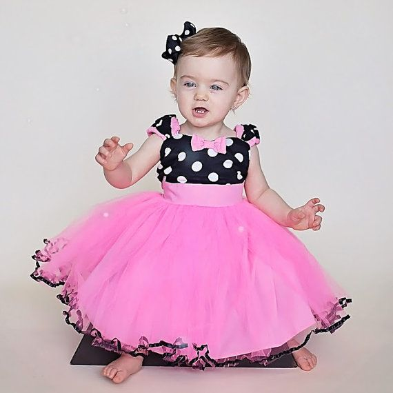 MINNIE MOUSE dress TUTU Minnie Mouse by loverdoversclothing                                                                                                                                                                                 Mais