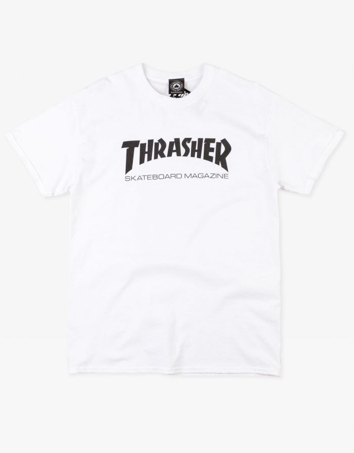 Thrasher Magazine Logo t-shirt white
