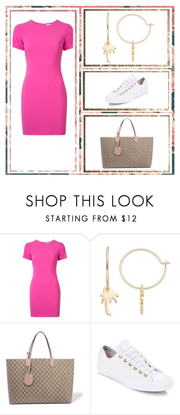 """""""Outfit # 4820"""" by miriam83 ❤ liked on Polyvore featuring Likely, LC Lauren Conrad, Gucci and Converse"""