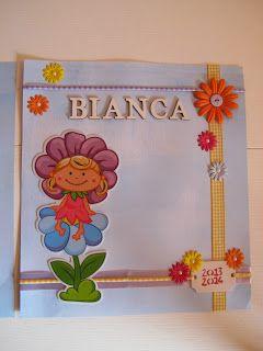Angolino di Liana: Copertina Quaderno Asilo di Bianca