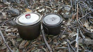 Μαγειρικά σκεύη (cookware) για camping, πεζοπορία, ορειβασία